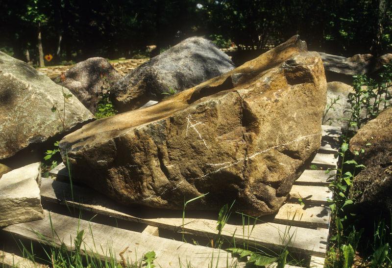 Chauked Rock