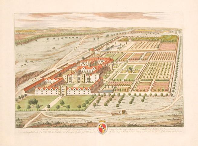 Knole_-_Britannia_Illustrata_1709