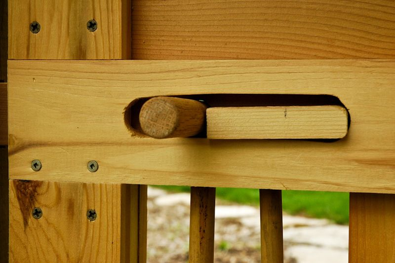 Wooden Gate Lock Ideas