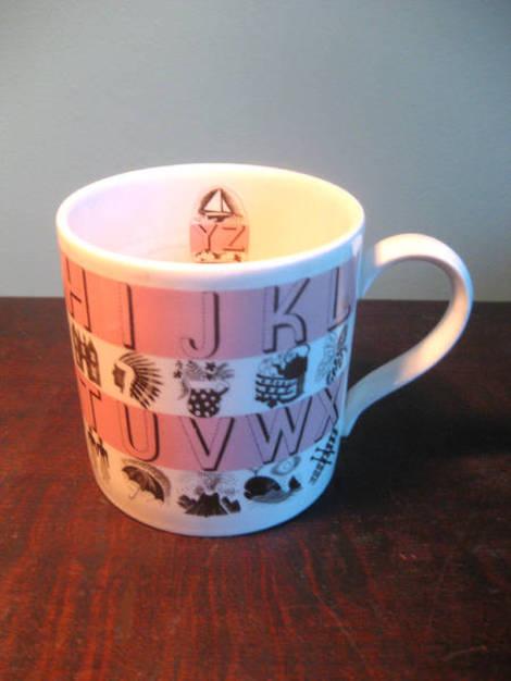 Mug pink ravilious