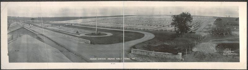 Argonne_Cemetery,_Argonne_Forest,_France,_1919_(LOC)