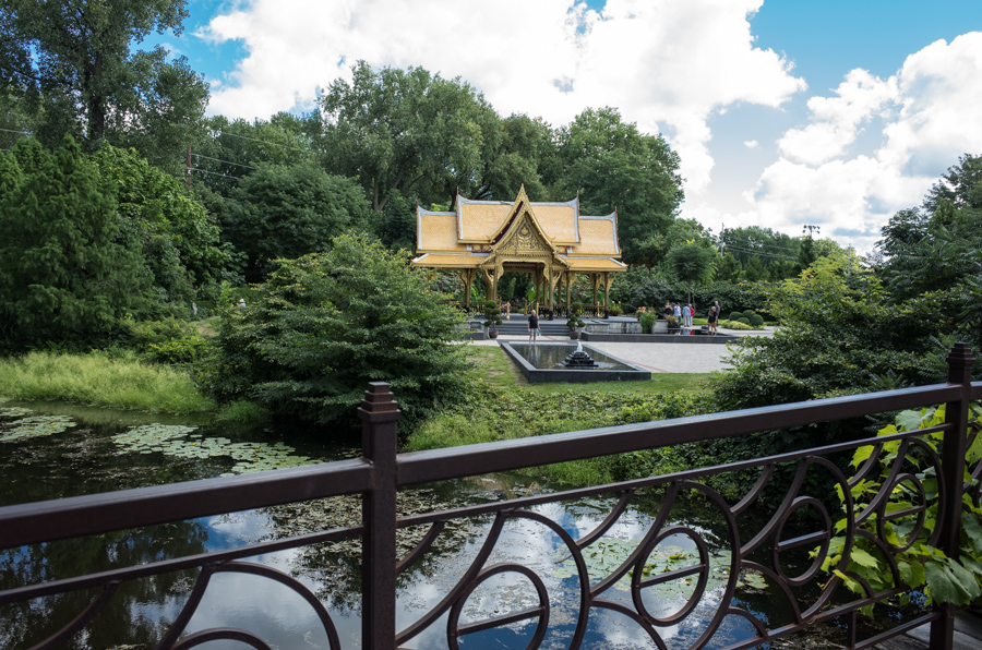 Indian Summer Afternoon At Olbrich >> Each Little World Olbrich Botanical Gardens