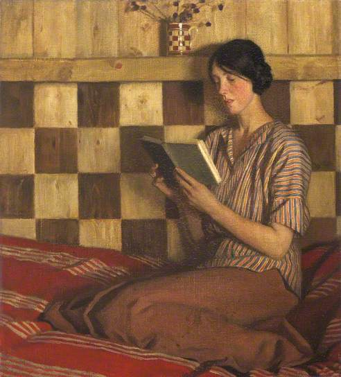 The-green-book-1916.-Harold-Knight-Nat-Mus-of-Wales