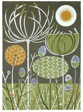 Each Little World Angie Lewin Flowers And Fabric